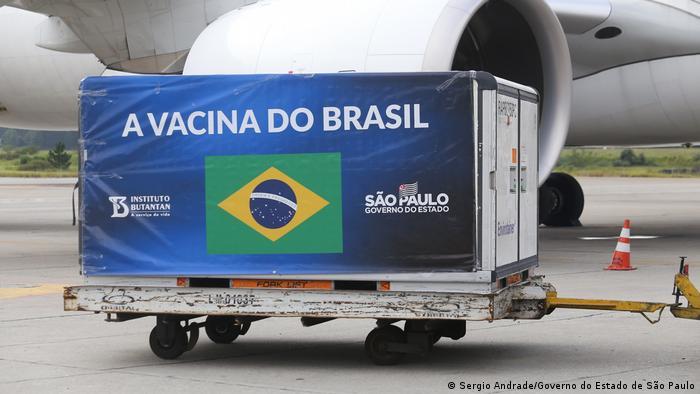 Brasilien São Paulo | Rohstoffe für Impfstoff-Produktion