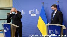 EU I Ukraine I Denys Shmyha und Valdis Dombrovskis