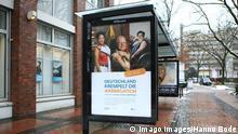 Deutschland Hamburg | Werbeplakat Corona-Impfung | Kampagne