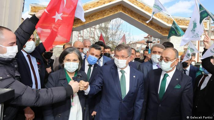 Türkei Ankara   Oppositionspartei   Gelecek Kampagne