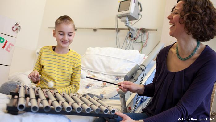 Musiktherapie bei krebskranken Kindern