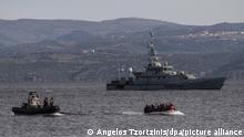 Ein Boot mit 15 afghanischen Flüchtlingen, fünf Kindern, drei Frauen und sieben Männern, kommt auf der griechischen Insel Lesbos an, vor dem Patrouillenboot der britischen Grenztruppen HMC Valiant, die Teil der Frontex Mission ist. Ein Sprecher der türkkischen Regierungspartei AKP drohte der staatlichen Nachrichtenagentur Anadolu zufolge kaum verhohlen damit, den Flüchtlingen im Land die Grenzen zu öffnen.