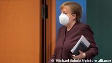 Angela Merkel I Kabinettssitzung in Berlin