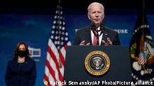 USA | Putsch in Myanmar | Joe Biden kündigt Sanktionen gegen Armee