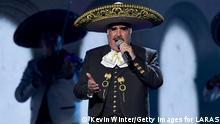 Mexiko Vicente Fernández Sänger