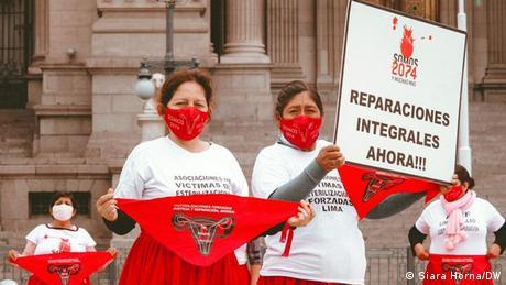 Campaña por las reparaciones a las víctimas de esterilizaciones forzadas en Perú.