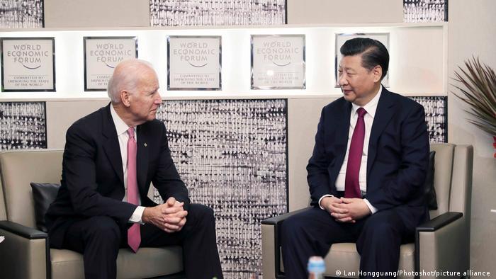 Joe Biden und Xi Jinping