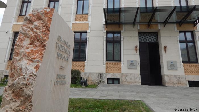 Bosnien Stadtrat Mostar