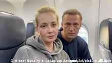 Deutschland Alexej Nawalny fliegt zurück nach Moskau