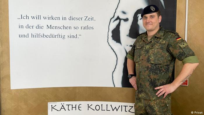 Berlin Bundeswehr-Soldaten in Heimen im Einsatz