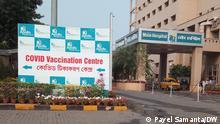 West Bengal Covid-19 Impfung Impfzentrum Kalkutta
