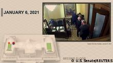 Weltspiegel 11.02.2021 | USA Washington |Impeachment-Verfahren |Präsentation, Mike Pence