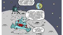 Türkei Cartoon von Künstler Serkan Altuniğne