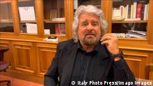 Italien Regierungskrise | Sondierungen Mario Draghi | Beppe Grillo