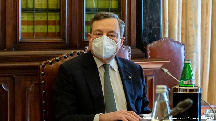 O Ιταλός πρωθυπουργός Μάριο Ντράγκι