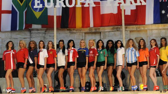 FLASH-GALERIE Miss WM 2010 Teilnehmerinnen
