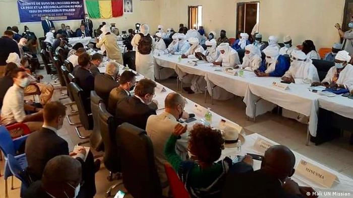 La réunion de Kidal réunit diverses personnalités