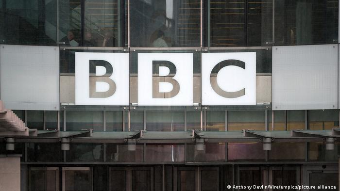 UK I Hauptsitz der BBC in London