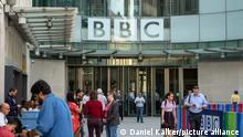 UK I Hauptsitz der BBC in London