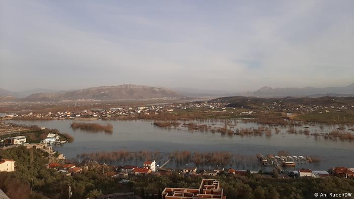 Albanien Überschwemmung in Shkodra