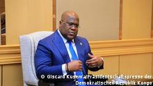 Präsident Felix Tshisekedi Copyright: Giscard Kusema von der Präsidentschaftspresse der Demokratischen Republik Kongo. via Eric Topona