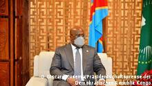DR Kongo Präsident Felix Tshisekedi
