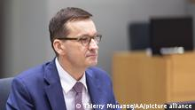 BRUSSELS, BELGIUM - DECEMBER 11: Mateusz Morawiecki, Prime Minister of Poland, attends EU Leaders Summit in Brussels, Belgium on December 11, 2020. Thierry Monasse/Pool / Anadolu Agency