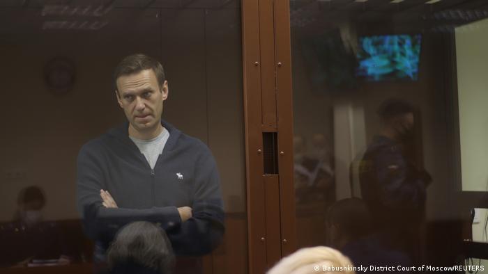 Russland Moskau | Alexej Nawalny vor Gericht