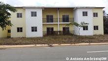 Angola verlassene Wohnungen in Capari