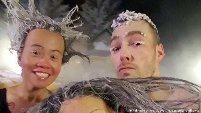 تصاویر جشنواره موی یخ زده در کانادا در سال ۲۰۲۰