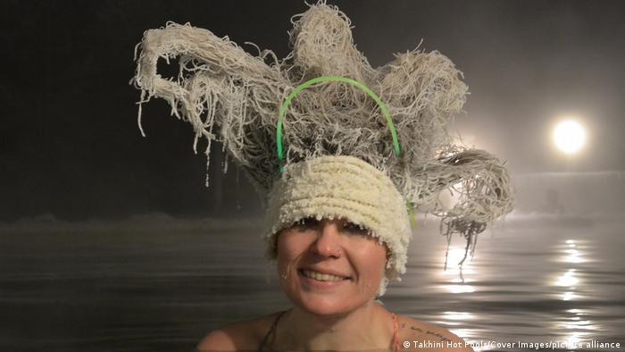 تصاویر جشنواره موهای یخزده سال ۲۰۲۰ کانادا