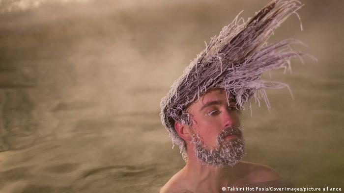 تصاویر جشنواره موهای یخ زده کانادا در سال ۲۰۲۰