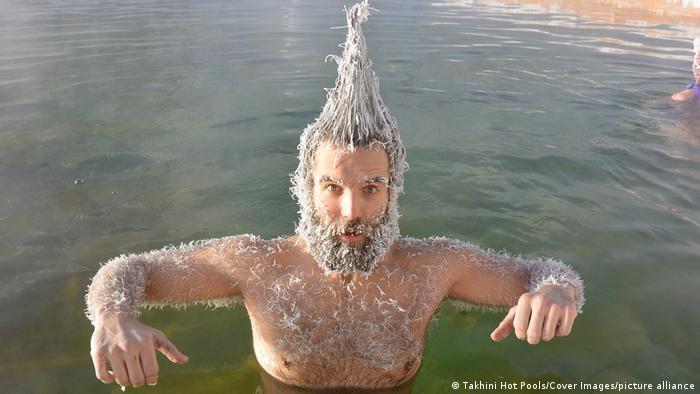 تصویر جشنواره موی یخزده کانادا در سال ۲۰۲۰