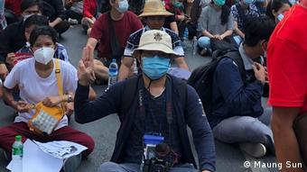 Filmmaker Maung Sun