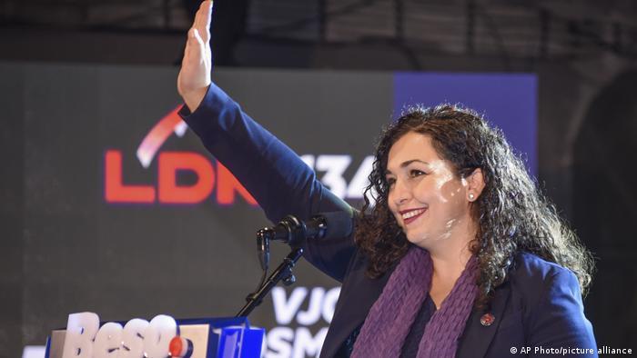 Kosovo Wahlen Wahlkampf Vjosa Osmani