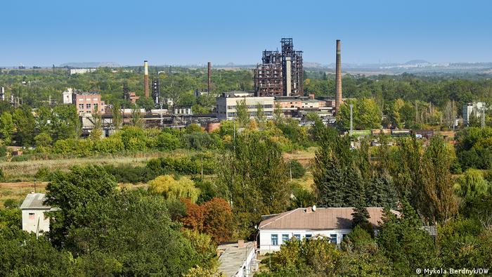 У Новгородському на Донбасі - краєвид не зовсім нью-йоркський