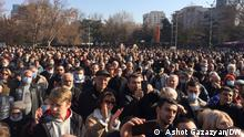Opposition Demo in Eriwan Armenien