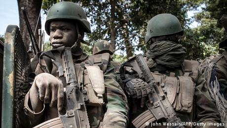Senegal Casamance-Konflikt  Operation der Armee