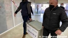 Bosnien und Herzegowina Banjaluka, Serbische Republik Impfung Sputnik V