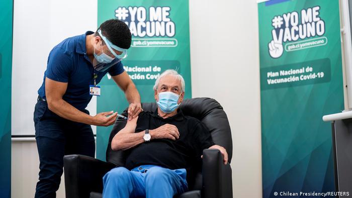 Chile | Coronavirus | Präsident Sebastian | Impfung