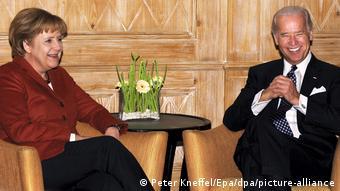 Münchner Sicherheitskonferenz | Merkel und Biden 2009