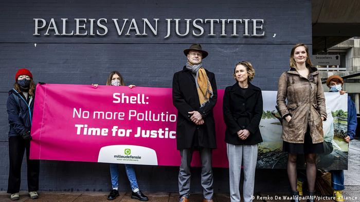 Urteil im Prozess gegen Shell wegen Verschmutzung in Nigeria