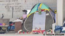 Obdachlos im Berliner Winter