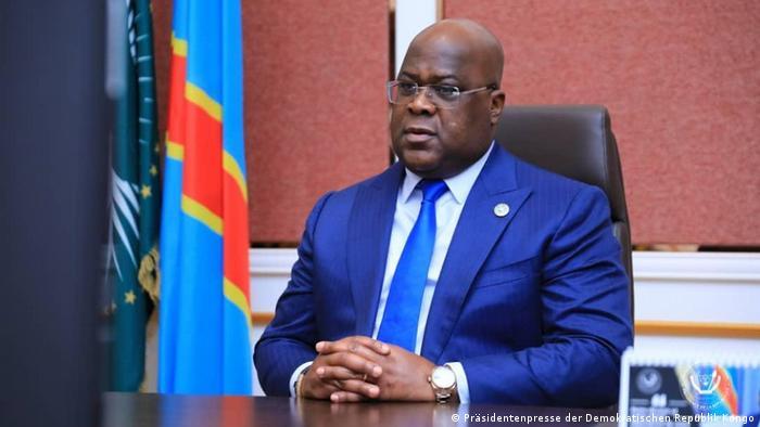 DR Kongo | Präsident Félix Tshisekedi in Kinshasa
