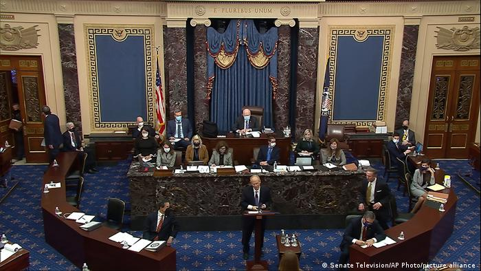 Blick in den US-Senat