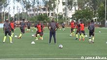 Mosambikanische U-20 Nationalmannschaft - Mambinhas Titel: Mambinhas nehmen an CAN U-20 teil Beschreibung: Mambinhas nehmen an CAN U-20 teil Ort: Mosambik Datum: 12.02.2021 Autor: Jaime Álvaro
