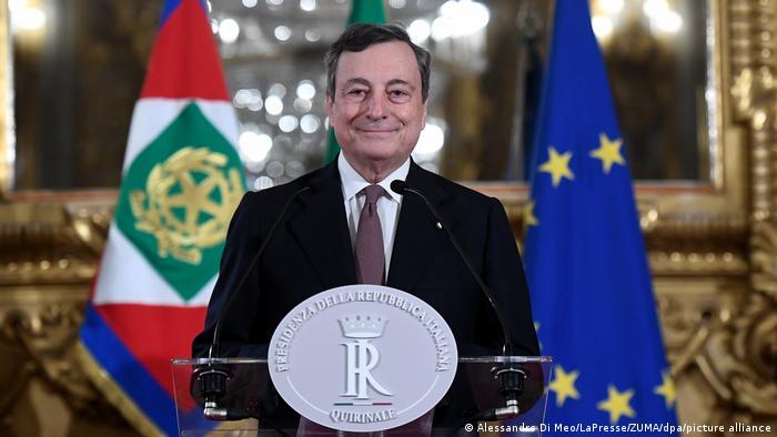 На 12 февруари 2021 на Марио Драги беше възложено сформирането на правителство от технократи