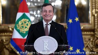 В феврале 2021 президент Италии поручил Марио Драги сформировать правительство