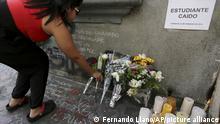 Marcha recordó el asesinato del estudiante Bassil Da Costa en Caracas el 12 de febrero de 2014.