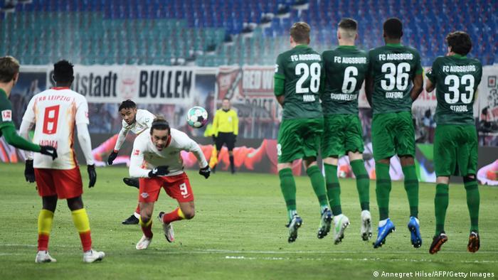 RB Leipzig vs FC Augsburg.